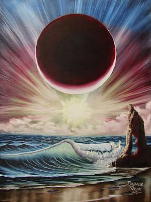 Star Burst Painting - Njbda Starburst by Daymon Archie