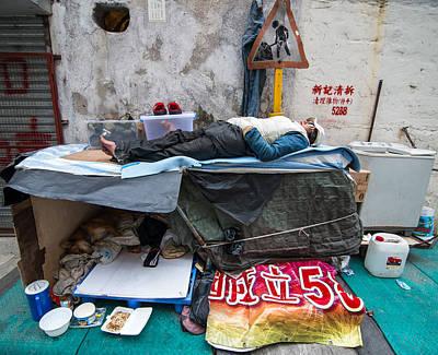 Hong Kong Photograph - No Alternative by Romario Severino