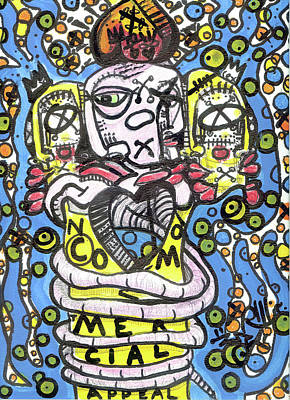 Follow Your Bliss Mixed Media - No Commercial Appeal by Robert Wolverton Jr