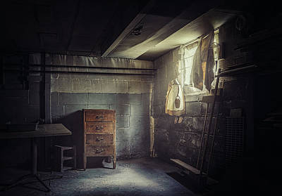 Creepy Photograph - No Escape by Scott Norris