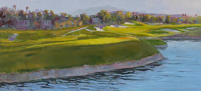No. Four Lakes Course Spanish Trail Las Vegas Print by Joe White