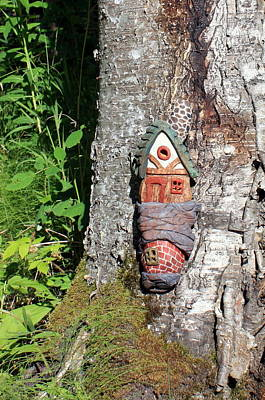 No Place Like Gnome Home I Print by Eric Knowlton