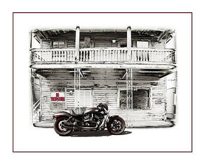 No Trespassing Print by Mal Bray
