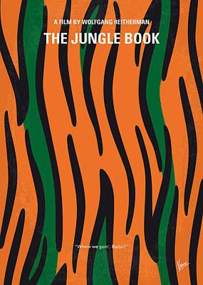Books Digital Art - No601 My Jungle Book Minimal Movie Poster by Chungkong Art