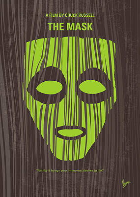 Mischief Digital Art - No647 My The Mask Minimal Movie Poster by Chungkong Art