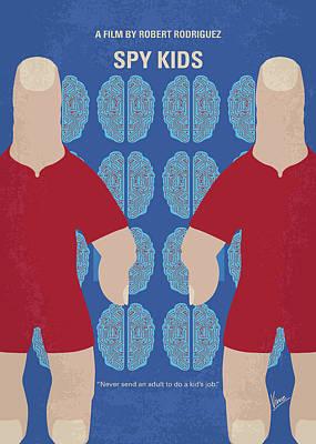 Thumbs Digital Art - No681 My Spy Kids Minimal Movie Poster by Chungkong Art
