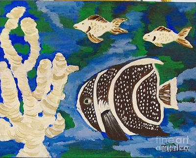 Noah's Aquarium Original by Marsha Heiken