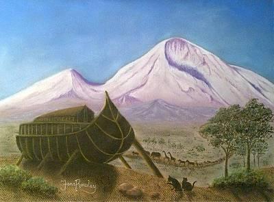 Noah's Ark - The Calm Before The Storm Original by Fiona Rowley