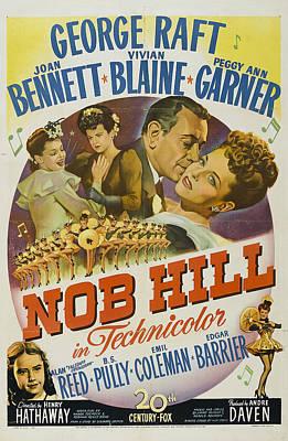 Joan Bennett Photograph - Nob Hill 1945 by Mountain Dreams