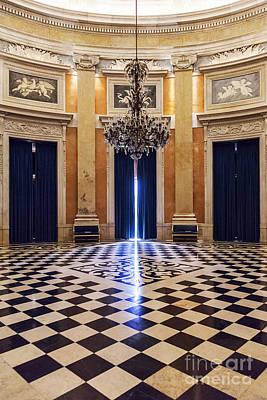 Checkers Photograph - Noble Hall by Jose Elias - Sofia Pereira