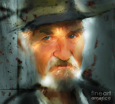 Senior Digital Art - Nobody Knows by Bob Salo
