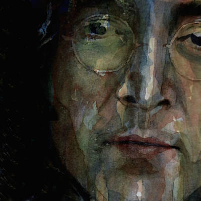 John Lennon Painting - Nobody Told Me There'd Be Days Like These by Paul Lovering