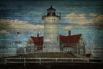 Cape Cod Photograph - Nobska Lighthouse 2 by Eleanor  Bortnick