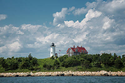 Lighthouse Photograph - Nobska Lighthouse by Betty Wiley