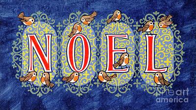Robin Painting - Noel by Stanley Cooke