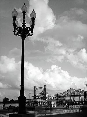 Nola Riverwalk Print by Joy Tudor