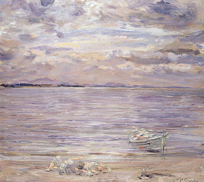 Calm Painting - Noontide Jovie's Neuk by William McTaggart