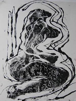 Norma Jean Print by Dalushaka Mugwana