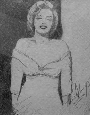 Norma Jean Original by Patricia Brewer-Cummings