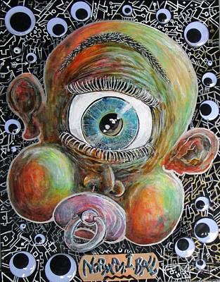 Cyclops Mixed Media - Norman I Ball by John Foss
