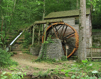 Grist Mill Photograph - Rice Grist Mill II by Douglas Stucky