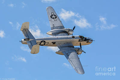 Planes Of Fame Photograph - North American B-25 Mitchell  by Tommy Anderson