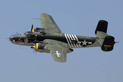 B-25 Photograph - North American Mitchell Executive Sweet by Brian Lockett