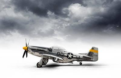 North American P-51 Mustang Print by Douglas Pittman
