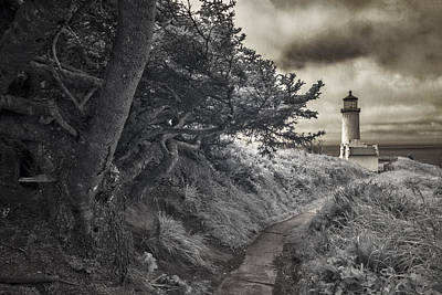 Lighthouses Photograph - North Head Lighthouse 1 by Alan Kepler