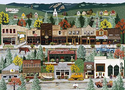 Northern Exposure Print by Jennifer Lake