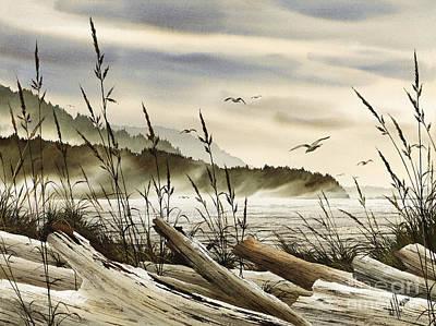 Northwest Shore Print by James Williamson