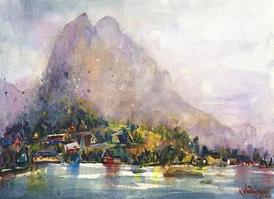 Norway Painting - Norway by Kristina Vardazaryan
