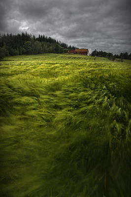 Landscape In Norway Photograph - Norwegian Wave by Andy Astbury