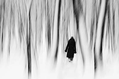 Norwegian Wood  Print by Floriana Barbu