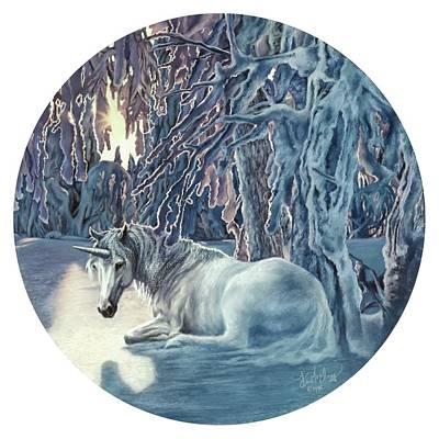 Pastel - Norwegian Woods by Kim McElroy