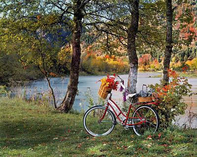 Nostalgia Autumn Print by Leland D Howard