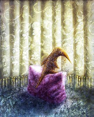 Birdman Painting - Nostalgia by Lolita Bronzini