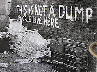 Not A Dump -thee Signs Of Thre Times Collection Original by Sign Of The Times Collection