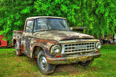 Not For Sale 1965 International Pickup Truck Print by Reid Callaway