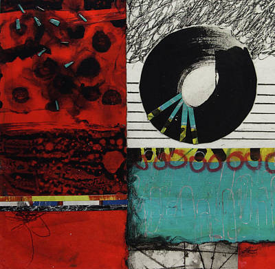 Red White And Blue Mixed Media - Not My Will by Laura Lein-Svencner