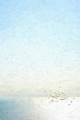Not Quite Rothko - Golden Dawn - 4 Of 4 Original by Serge Averbukh