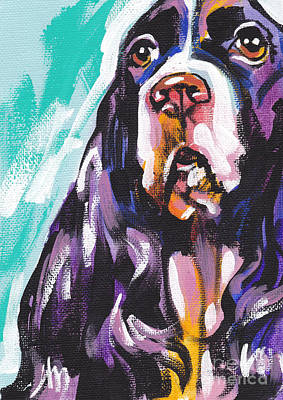 Springer Spaniel Painting - Nothing Like Spring by Lea S