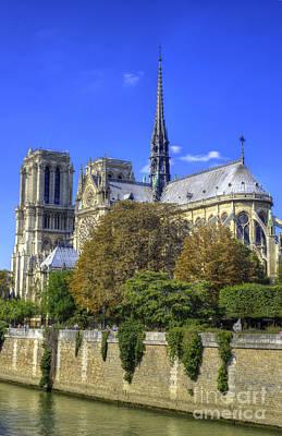 Notre Dame, Paris Print by Juli Scalzi
