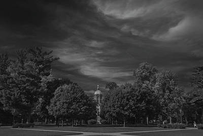 Notre Dame University 6a Print by David Haskett