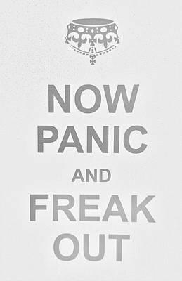 British Propaganda Digital Art - Now Panic 0 by Rob Hans