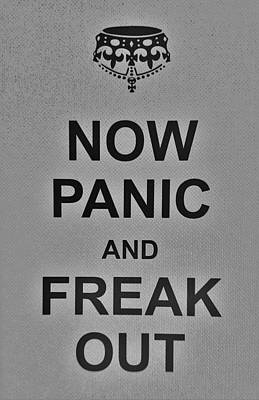 British Propaganda Digital Art - Now Panic 1 by Rob Hans