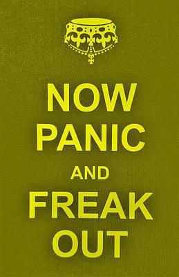 British Propaganda Digital Art - Now Panic 10 by Rob Hans