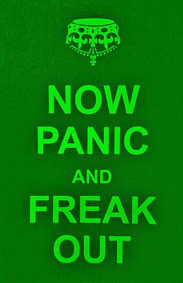 British Propaganda Digital Art - Now Panic 11 by Rob Hans