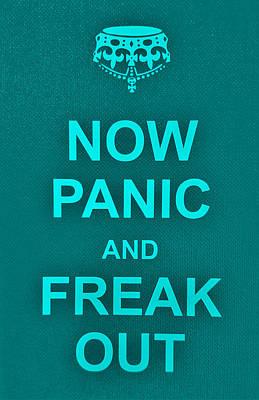 British Propaganda Digital Art - Now Panic 12 by Rob Hans