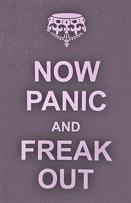 British Propaganda Digital Art - Now Panic 15 by Rob Hans